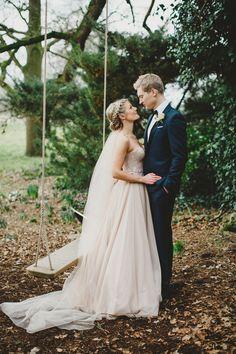 A Blush Pink @watterswtoo Dress for an Elegant Wedding at Iscoyd Park   Love My Dress® UK Wedding Blog