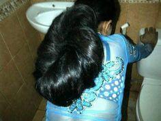Indian Hairstyles, Bun Hairstyles, Long Indian Hair, Big Bun, Updos, March 2014, Long Hair Styles, Buns, Soaps