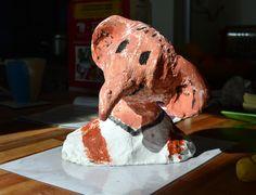 The BFG by Portia. Making Sculptural Figures: Year 3 Roald Dahl & Quentin Blake Homework.
