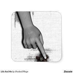 Sticker. #Life #depressed #depression #zazzle #customize #customise