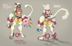 Koshka is my Main and besides limited time skins this one is my favorite
