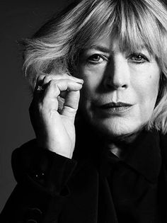 67-year old Marianne Faithfull is the face of the new Yves Saint Laurent campaign (photo by Hedi Slimane)