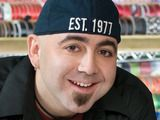 Duff Goldman. Owner of Charm City Cakes, host of now ended Ace of Cakes on Food Network.