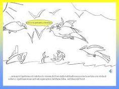Risultati Immagini Per Disegni Della Gabbianella E Il Gatto