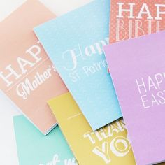 These cards are super fun and easy to make, simply print, cut and fold.