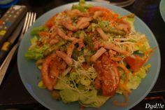 Salade crudité et lardons