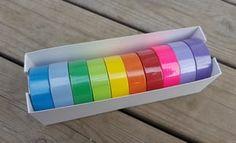Washi/paperiteippisetti, 15mmx10m, 10kpl - 14,90 €