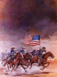 American Indian Wars, Native American Tribes, African American Art, American War, Military Art, Military History, Cowboy Action Shooting, West Art, American Frontier