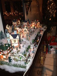 Our Christmas Village 2012