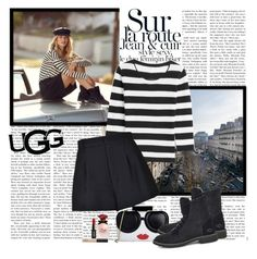 """The New Classics With UGG: Contest Entry"" by polybaby ❤ liked on Polyvore featuring UGG, 81hours, RED Valentino, Dolce&Gabbana, Alice + Olivia, NARS Cosmetics and ugg"