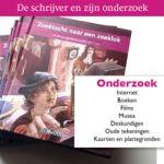 In deze les vertelt Rian Visser hoe ze onderzoek deed voor haar boek Zoektocht naar een zeeklok over Christiaan Huygens. Welke bronnen kun je gebruiken?  Het eerste hoofdstuk van dit boek is gratis te downloaden. De les bevat ook een quiz met 10 weet-vraagjes. Daarna volgt een opdracht waarbij kinderen onderzoek doen naar een land waar ze nog nooit geweest zijn. Ze lezen een boek dat zich in dat land afspeelt. Vervolgens schrijven ze zelf een verhaal.