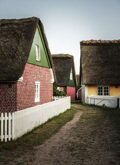 Sønderho, Denmark   15 Colorful Buildings That Will Brighten Up Your Day