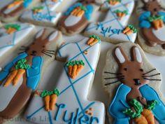 Peter Rabbit Cookies, by Flour De Lis