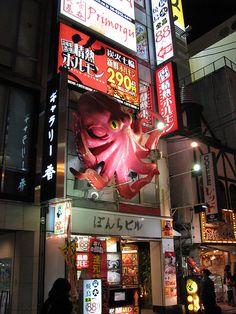 awesome Dōtonbori sign, Osaka Japan