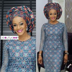 Ankara and Lace Design for Ladies http://www.dezangozone.com/2015/07/ankara-and-lace-design-for-ladies.html