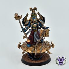 Thousand sons (Tzeentch) - Exalted Sorcerer #ChaoticColors #commissionpainting #paintingcommission #painting #miniatures #paintingminiatures #wargaming #Miniaturepainting #Tabletopgames #Wargaming #Scalemodel #Miniatures #art #creative #photooftheday #hobby #paintingwarhammer #Warhammerpainting #warhammer #wh #gamesworkshop #gw #Warhammer40k #Warhammer40000 #Wh40k #40K #chaos #warhammerchaos #warhammer40k #tzeentch #thousandsons #ExaltedSorcerer Thousand Sons, War Hammer, Warhammer 40000, Tabletop Games, Minis, Modeling, Miniatures, Change, My Favorite Things