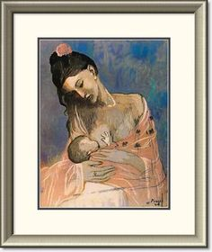 Picasso mother and baby