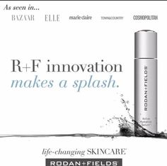 Rodan + Fields #Newest product is launching very soon.  Editors are buzzing! We're already making a splash with the upcoming launch of R+F Active Hydration Serum™.   R+ F continues to produce amazing products!! ddennard.myrandf.biz