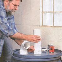 Woodworking Projects | Adding A Pre-Separator To Your Dust Collection System