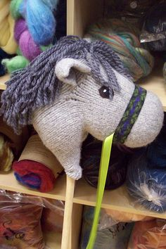 Hobby Horse- I'm making this right now :)