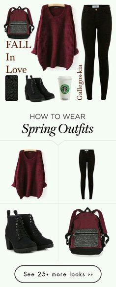 How to wear fall fashion outfits with casual style trends Komplette Outfits, Outfits For Teens, Casual Outfits, Fashion Outfits, Batman Outfits, Formal Outfits, Rock Outfits, Polyvore Outfits, Polyvore Fashion
