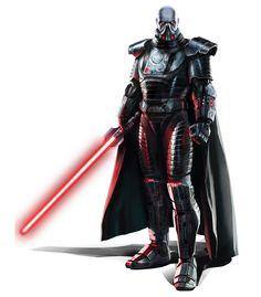 Un guerriero Sith, dal gioco Star Wars la vecchia repubblica.