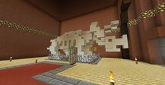Post with 10993 views. Minecraft Fossils, Minecraft V, Minecraft Museum, Construction Minecraft, Minecraft Bridges, Minecraft Statues, Minecraft Survival, Minecraft Tutorial, Minecraft Blueprints