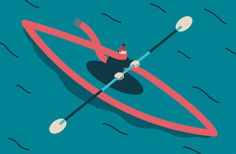 Editorial illustrations 2013 by Magoz, via Behance
