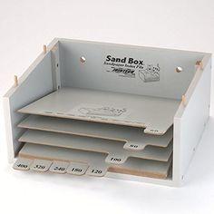 Sandpaper Storage Sandbox