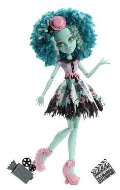 Monster High - Muñeca Zombiwood Honey Swamp (Mattel BLW94): Amazon.es: Juguetes y juegos