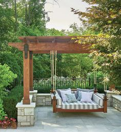 28 beautiful backyard patio design ideas 28 28 Beautiful B., 28 beautiful backyard patio design ideas 28 28 Beautiful Backyard Patio Design Ideas There are numerous stuff that may finally comprehensive ones garden,. Cozy Backyard, Backyard Patio Designs, Backyard Pergola, Diy Patio, Backyard Landscaping, Pergola Kits, Small Pergola, Modern Pergola, Pergola Ideas