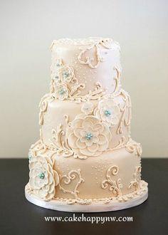 """""""White Wedding"""" ~ gorgeous!"""