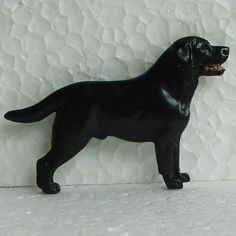 Labrador Black Brooch Dog Breed Jewellery Handpainted Handcrafted Resin