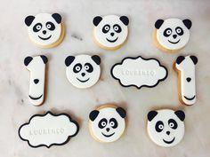 Bolachas  Cakedesign  Panda Canal panda