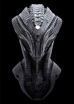 As incríveis ilustrações e modelos 3D de ficção científica de Riyahd Cassiem