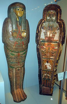 Mummy coffin of Djedmontefanch, a priest of Amun, ~ 945 BC - 712 BC