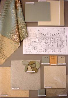 Interior Design - AGH Cancer Center by Julie Brown, via Behance