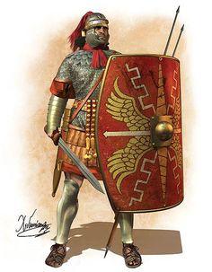Roman tesserarius, 1st century AD