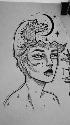 Trendy drawing ideas trippy illustrations ideas Drawing Tips trippy drawings Trippy Drawings, Pencil Art Drawings, Art Drawings Sketches, Tattoo Sketches, Animal Drawings, Cute Drawings, Tumblr Art Drawings, Tattoo Drawings, Random Drawings