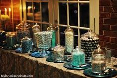 pictures of wedding candy bar - Google Search