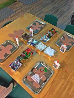 Holiday Activities For Preschoolers Gingerbread Man Super Ideas Gingerbread Man Activities, Holiday Activities, Art Activities, Holiday Crafts, Gingerbread Man Crafts, Montessori Activities, Gingerbread Man Kindergarten, Gingerbread Man Decorations, Christmas Gingerbread