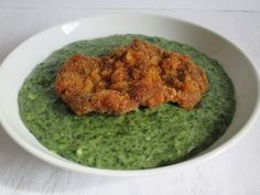 Medvehagyma főzelék rántott hússal Ethnic Recipes, Food, Essen, Meals, Yemek, Eten