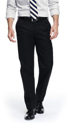 Lands' End Lands'end Men's Big and Tall Traditional Fit No Iron Dress Twill Trousers Tall Men Fashion, Mens Fashion, Top Clothing Brands, Tall Pants, Iron Shirt, Dress Trousers, Mens Big And Tall, Wool Dress, Polo Ralph Lauren
