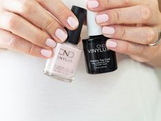 This article on Beauty and Beatitudes shares an easy step by step at home mani - HOW I KEEP MY NAILS LOOKING GOOD ALL WEEK | AT HOME MANI