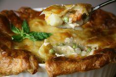 Bone Suckin'® Turkey Pot Pie Recipe