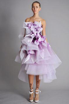 Marchesa Spring 2010 Ready-to-Wear Fashion Show - Alisa Matviychuk