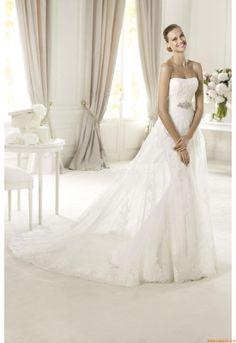 Vestidos de noiva Pronovias Urkidi 2013
