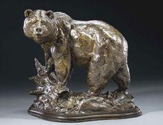 """On The Hunt"" bronze by Scott Scherer Fine Art"