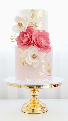 Cakes 2 Cupcakes - Engagements and Weddings Elegant Wedding Cakes, Elegant Cakes, Beautiful Wedding Cakes, Gorgeous Cakes, Wedding Cake Designs, Pretty Cakes, Cute Cakes, 2 Tier Wedding Cakes, Fondant Cakes