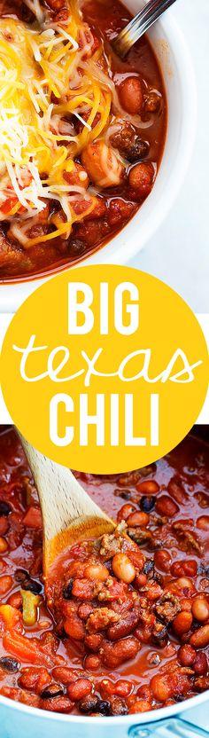 Big Texas Chili | Creme de la Crumb